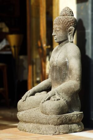 a sculpture from buddha