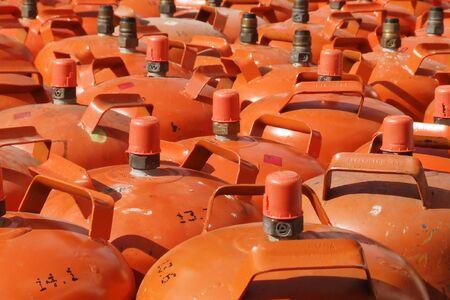 few bottles of gas