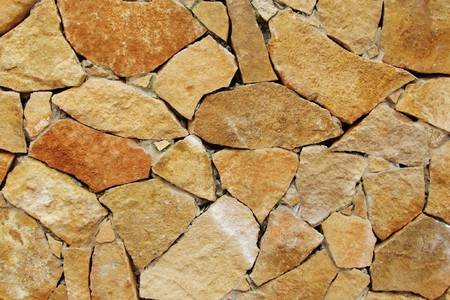 firmness: stones, a part from a wall Stock Photo