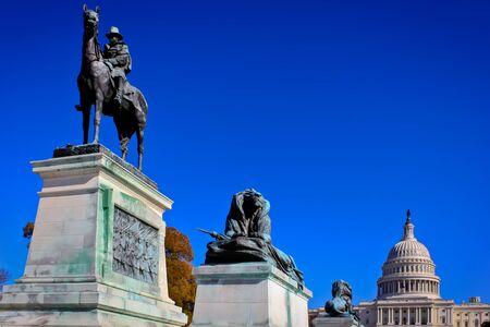 Capital Hill, Washington, DC. Stock Photo