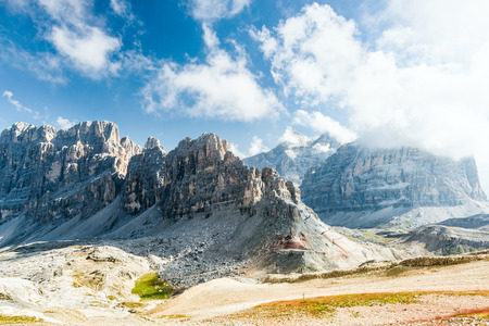 Dolomites mountains - Lagazoui.