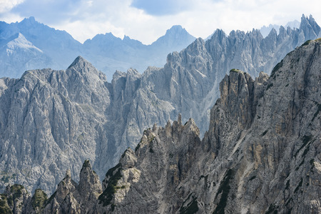 savio: The Dolomites mountains, Stock Photo