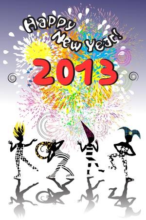 2013 new year Illustration