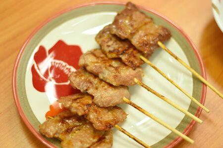 plato del buen comer: Grilled Pork and Sticky Rice