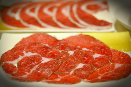 Beef Slice Food