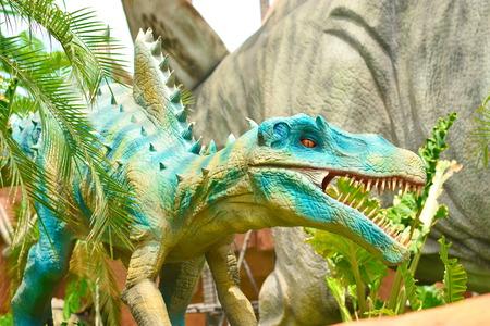good weather: Dinosaurs Stock Photo