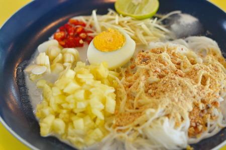 Thai Rice Noodle with Coconut Milk
