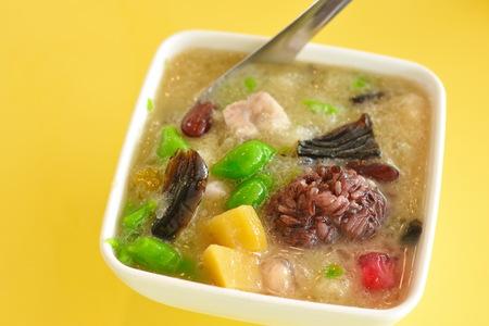 Mixed Rice Noodles Dessert Stock Photo