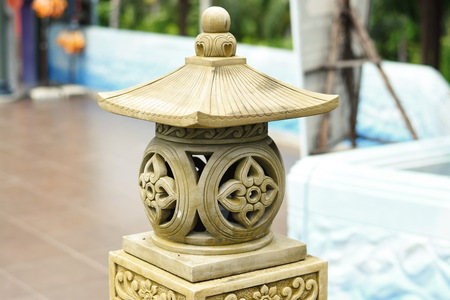 Beautiful Stone Lamp
