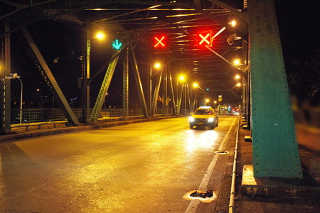 Memorial Bridge is a Bridge Crossing the River in Bangkok, Thailand.