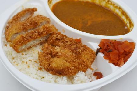 Tonkatsu Kare Stock Photo