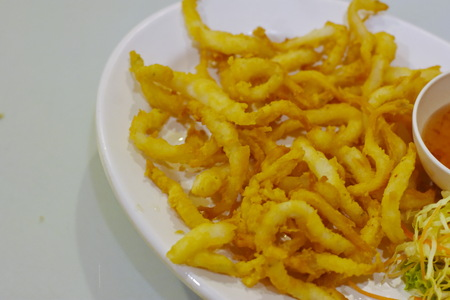 Small Crispy fish Stock Photo