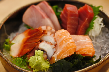 Mixed Sashimi Food