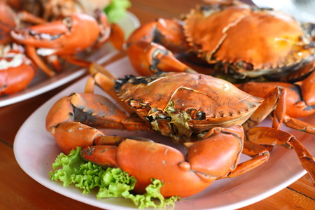 grilled crab food