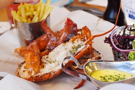 Lobster fresh food