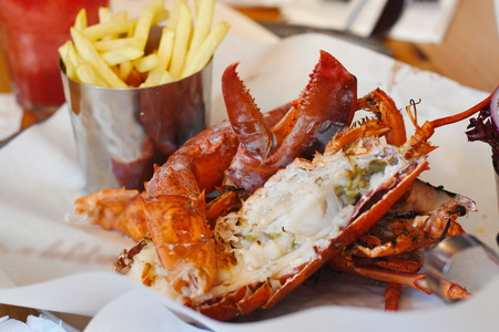 Lobster fresh food