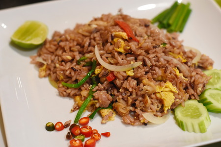 Stir-fried green bean with minced pork and Chinese