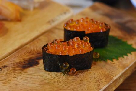 Tobiko (Flying fish roe) japanese