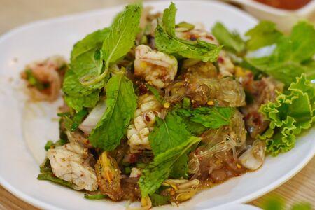 delicious Thai Spicy Vermicelli Salad