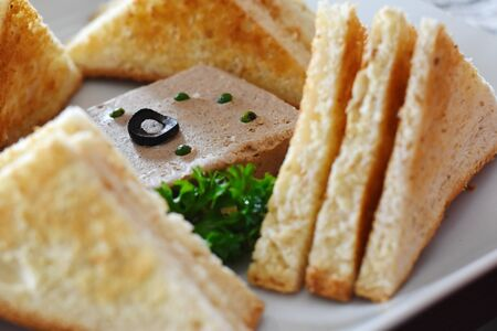 delicious Classic Liver Pate food