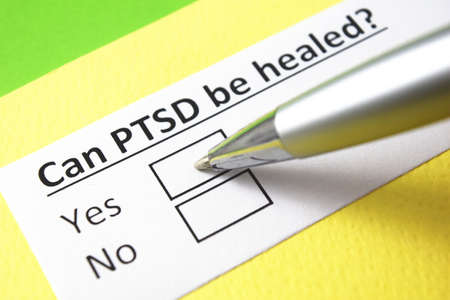 Can PTSD be healed? Yes or no? Stock fotó