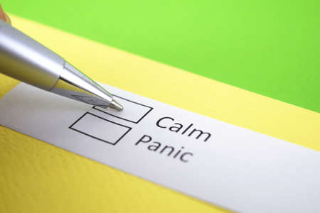Calm or Panic? Calm.
