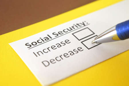 One person is answering question about social security,