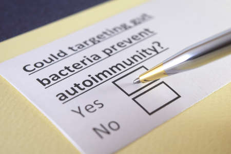 One person is answering question about autoimmunity.
