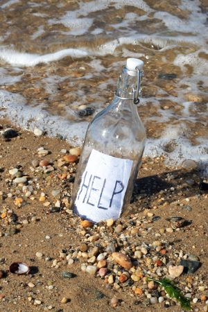Message in a Bottle Reklamní fotografie - 632623