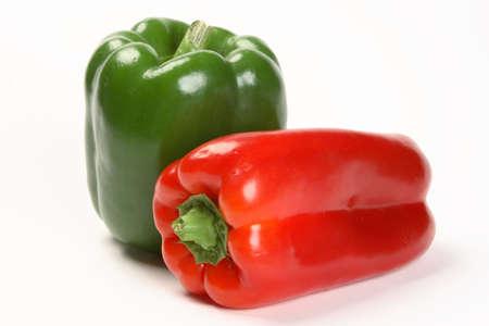 Green Red Bell Pepper