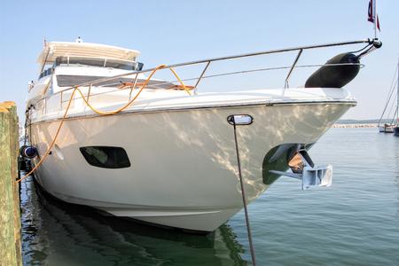 docked: Mega Yacht