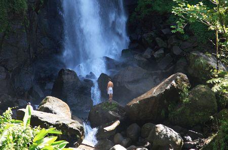 Tropical Waterfall Stock Photo - 2312643