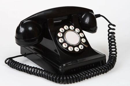 telephone: Retro antique 1950s style telephone