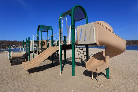 Colorful Park Outdoor Play Equipment