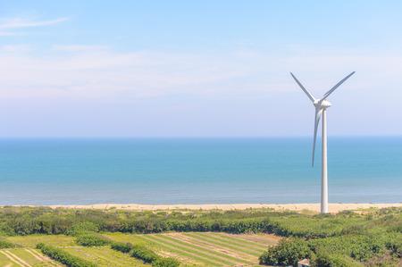 wind force wheel: Power generation wind turbine