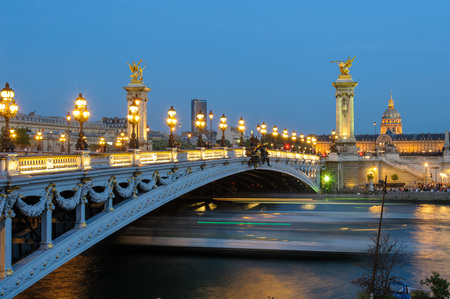 alexandre: Alexandre 3 Bridge in paris, france