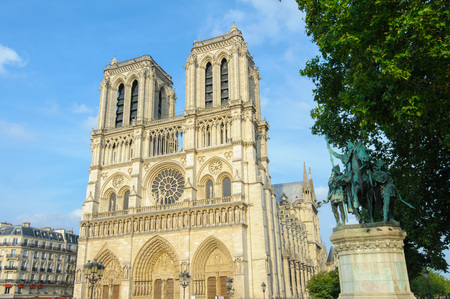 central european ethnicity: Notre Dame Cathedral in Paris, France