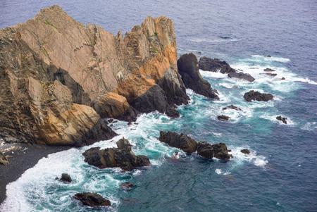 headland: Coastline of Luohanping in dongyin island, matsu, taiwan Stock Photo