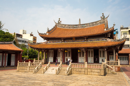 immense: Confucius Temple in Changhua, Taiwan