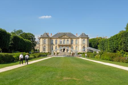rodin: Rodin Museum in Paris, France Editorial