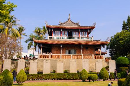Chihkan Tower, Fort Proventia in Tainan, Taiwan