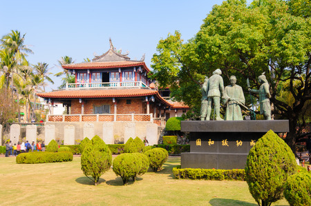 sublime: Chihkan Tower, Fort Proventia in Tainan, Taiwan
