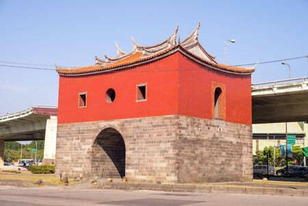 north gate: northern gate of the old taipei city Editorial