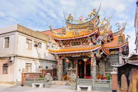 taiwan: traditional chinese temple in Kinmen, Taiwan
