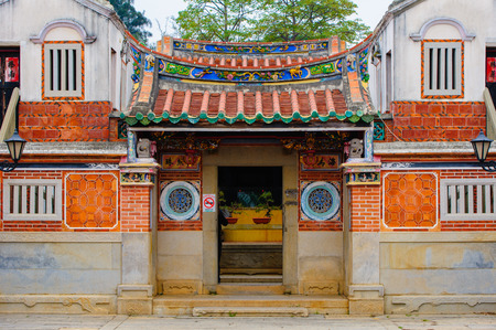 traditional chinese house in Kinmen, Taiwan