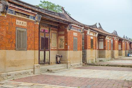 金門、台湾の伝統的な中国の家 写真素材