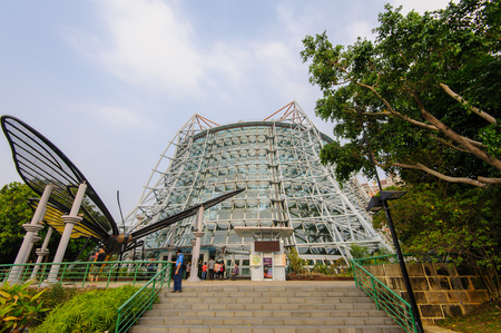 museum in taichung park, taiwan