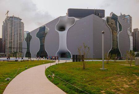 taichung metropolitan opera house Editorial