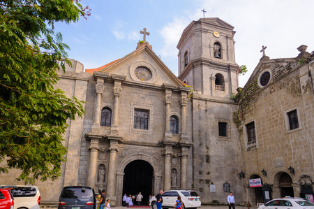 san agustin: San Agustin Church in Manila, Philippines