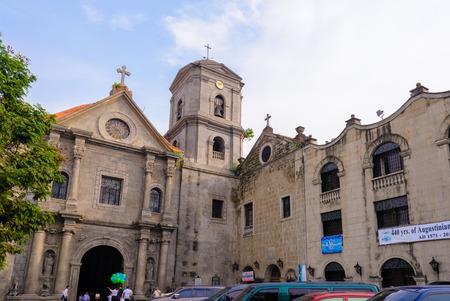 church: San Agustin Church in Manila, Philippines